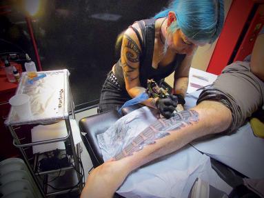 Meg the Tattoo artist